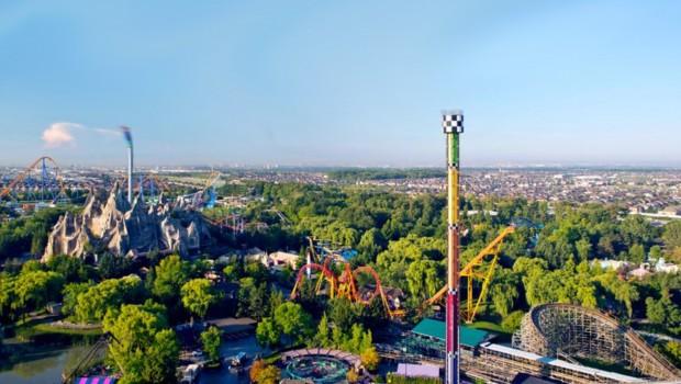 Canada's Wonderland Luftaufnahme