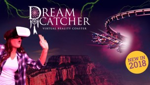 "Bobbejaanland macht Achterbahn ""Dreamcatcher"" 2018 zur Virtual-Reality-Attraktion"