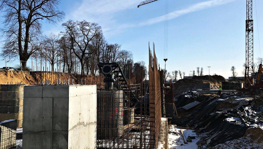 Hyperion Baustelle in EnergyLandia Januar 2018