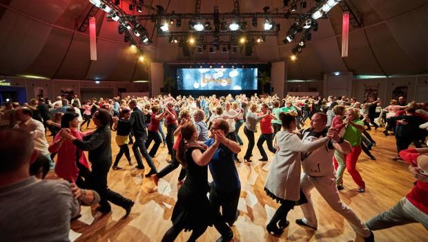 Das Euro Dance Festival 2018 im Europapark mit Tanzunterricht