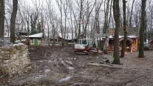 Familypark am Neusiedlersee Abriss Go-Karts