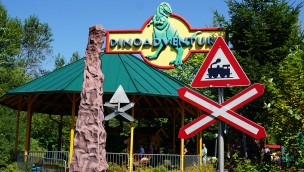 Fantasiana Dino Adventure Bahn Eingang