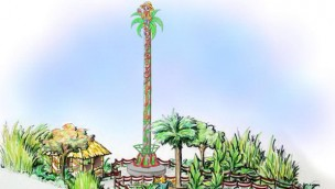 Jungle Drop 2018 im Freizeit-Land Geiselwind