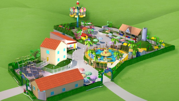 Gardaland Peppa Pig Land Plan