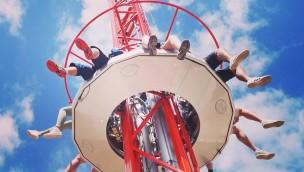 "Kingoland 2018 neu mit Freifallturm ""Pistone Tower"""
