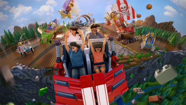 LEGOLAND Deutschland LEGO Rennen VR-Brille Artwork