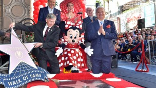 Minnie Mouse erhält Stern auf Hollywood Walk of Fame