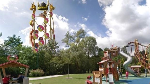 Parc Asterix 2018 Aerobar - Artwork