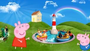 """Peppa Wutz ab 2018 im Heide Park: """"Peppa Pig Land"""" mit vielen Neuheiten entsteht"""