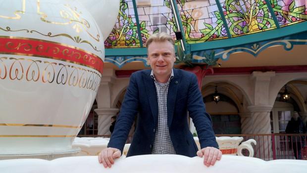 Plopsa-CEO Steve van den Kerkhof in Prinsessia Kasteel