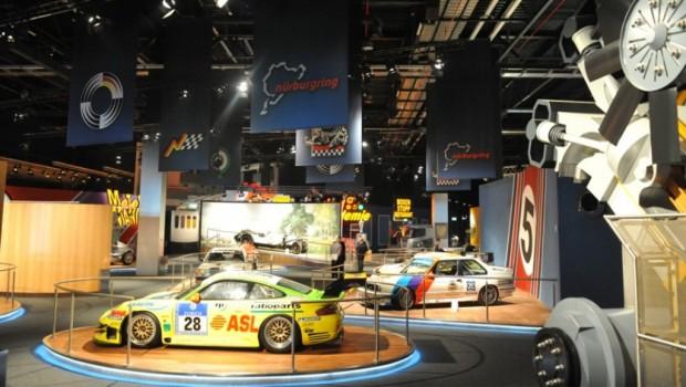 Ausstellung des Motorsport- und Erlebnismuseums ring°werk