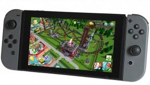 RollerCoaster Tycoon für Nintendo Switch erscheint noch 2018