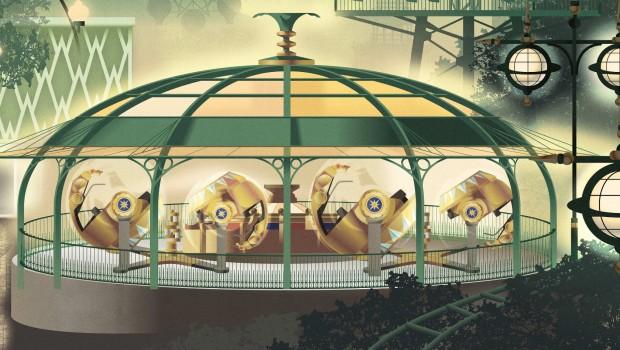 Tivoli Gardens 2018 Neuheit Tik Tak Artwork