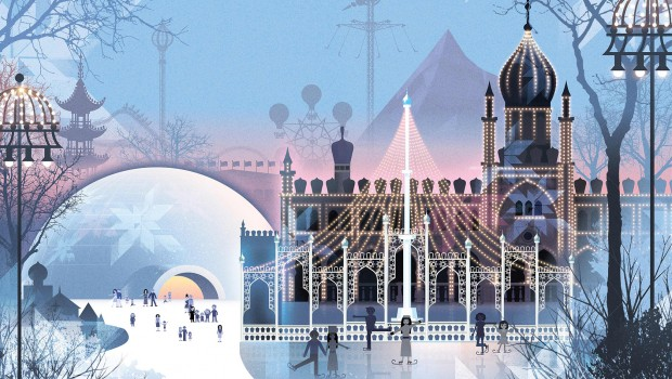 Tivoli Gardens Winter-Saison: Artwork