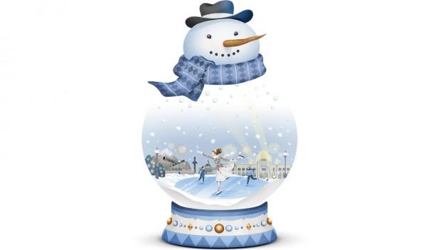Tivoli Gardens Winter-Saison: Schneekugel