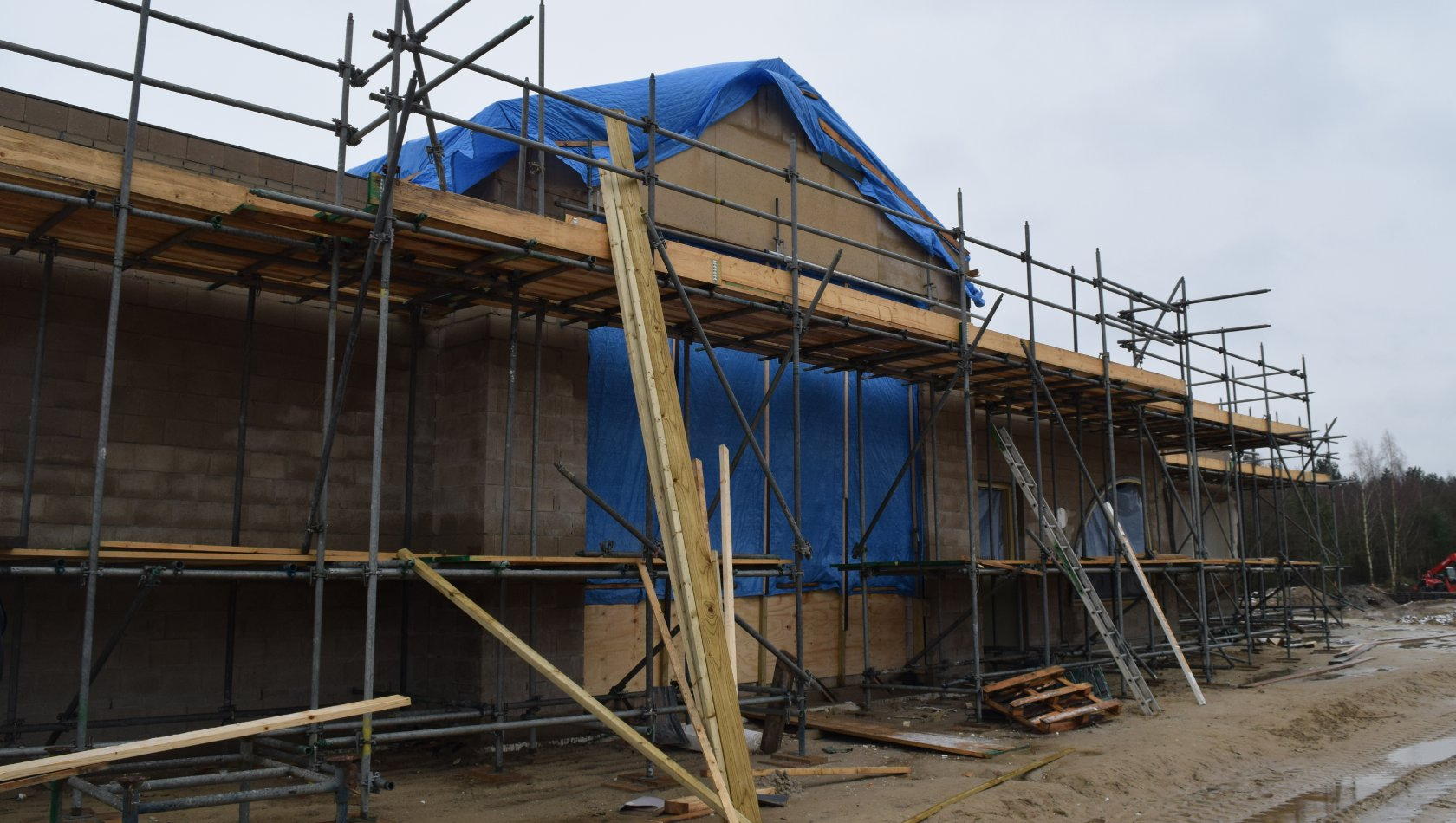 Toverland Baustelle von Avalon (Januar 2018)