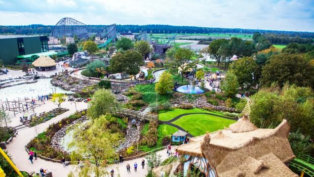 Toverland Freizeitpark bei Venlo - Panorama