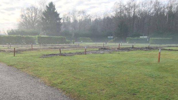 Waldlodges Drouwenerzand Baustelle 2018