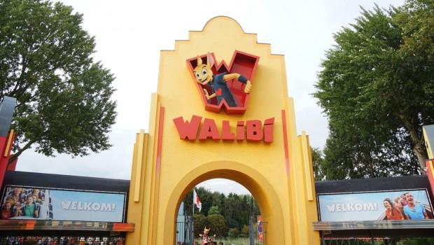 Walibi Holland Eingang Rückseite