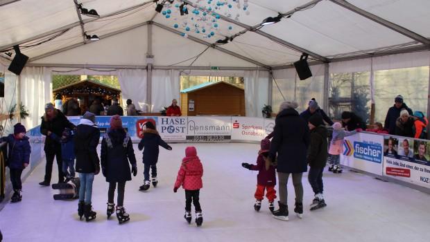 Zoo Osnabrück: Schlittschuhlaufen auf der Eisbahn