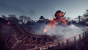 Wicker Man in Alton Towers