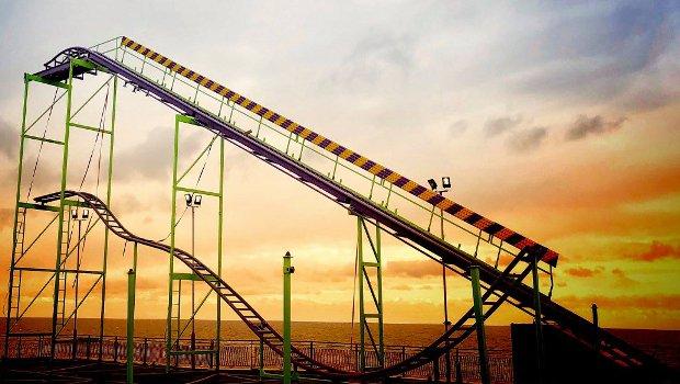 Blackpool South Pier Crazy Coaster