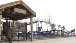 """Daftöland eröffnet 2018 """"Skutan"""": Neue Familien-Achterbahn in schwedischem Freizeitpark"""