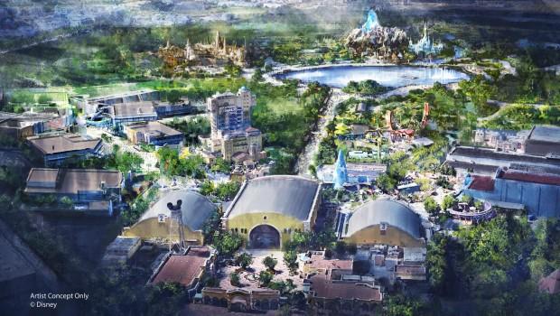 Disneyland Paris Erweiterung Concept Art