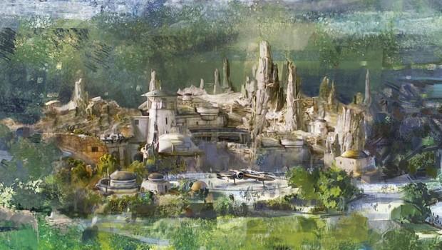 Disneyland Paris Star Wars Themenbereich