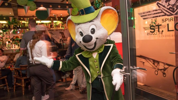 Europa-Park Euromaus am St. Patricks Day