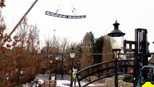 "Heide Park erneuert 2018 Achterbahn ""Grottenblitz"""