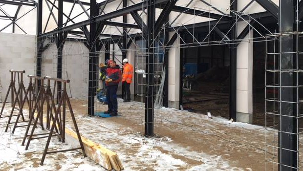 Holiday Indoor Baustelle Holiday Park