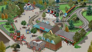 Kennywood Thomas Town Artwork 2