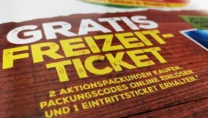 Nestlé Freizeit-Ticket 2018 Code eingeben