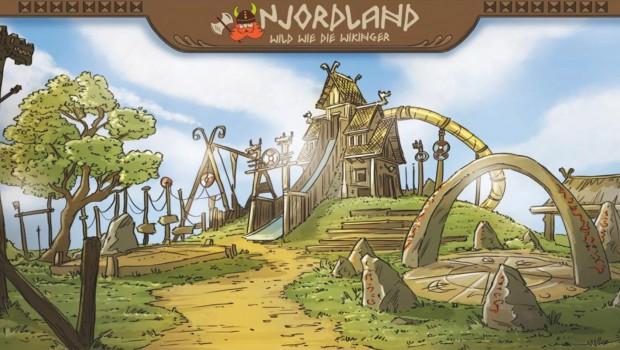 Njordland im Tier- und Freizeitpark Thüle - Artwork