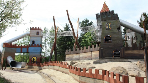 Rasti-Land Neuheit 2018 Burg Anlage