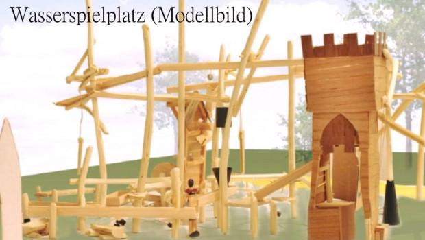 Rasti-Land 2018 neu mit Wasserspielplatz - Modell