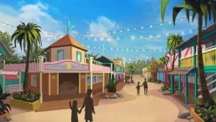 Skara Sommarland gestaltet Westernstadt um: Für 2018 entsteht karibische Fußgängerzone