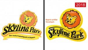 Skyline Park präsentiert 2018 neues Logo