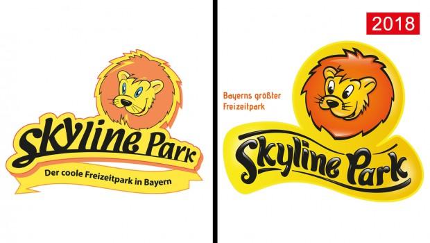 Skyline Park Logo Erneuerung 2018