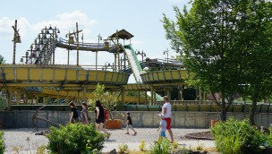 Skyline Park Pirateninsel-Wildwasserbahn