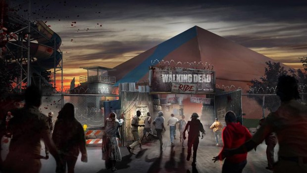 The Walking Dead The Ride Eingang Artwork