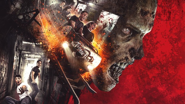 Thorpe Park Walking Dead Achterbahn 2018 neu Artwork