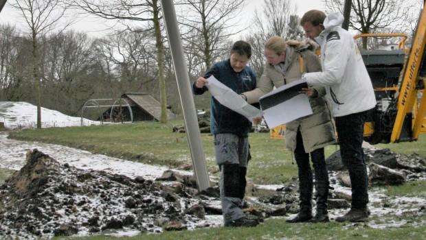 Tier Freizeitpark Thüle 2018 Njordland Baustelle