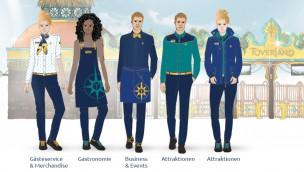 Toverland kleidet Mitarbeiter neu ein: Neue Outfits passend zu neuer visuellen Identität