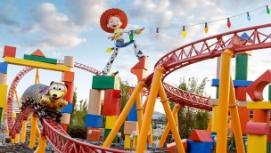 Toys Story Land  Disney's Hollywood Studios Slinky Dog Testfahrt