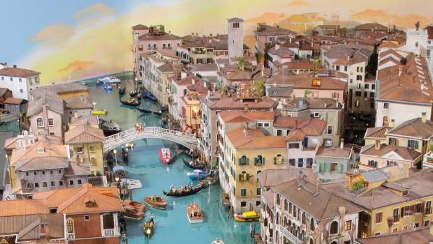 Venedig Canale Grande Miniatur Wunderland Hamburg