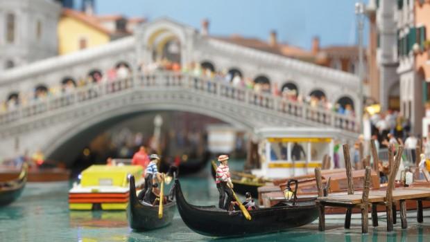 Venedig Rialtobrücke Miniatur Wunderland Hamburg