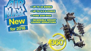 "Brean Theme Park präsentiert 2018 Thrill-Attraktion ""Air Maxx"""