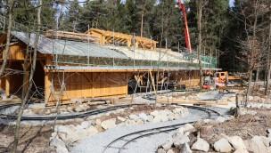 Bayern-Park: Zwei neue Attraktionen sollen in den Osterferien 2018 einsatzbereit sein